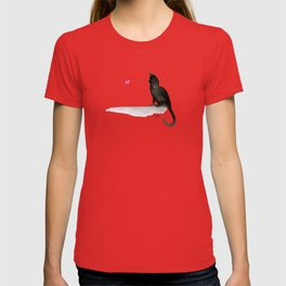 I Love Cats No.4 by Kathy Morton Stanion T-shirt