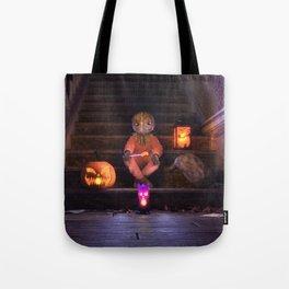 Halloween Rules Enforcer Tote Bag