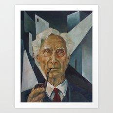 Bertrand Russell Art Print