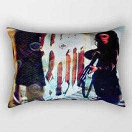 Inimical Beast Rectangular Pillow