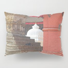 CONTEMPLATING THE OPTIONS AT BHAKTAPUR NEPAL Pillow Sham