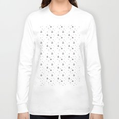 boats subtle pattern Long Sleeve T-shirt