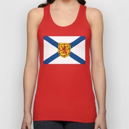 The Flag of Nova Scotia  Unisex Tank Top