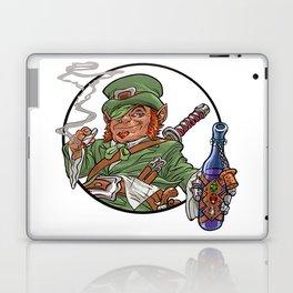 Party Leprechaun for St. Patrick's Day Laptop & iPad Skin