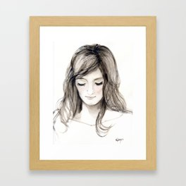 A portrait 4 Framed Art Print