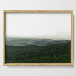 Green Mountain Majesties Serving Tray