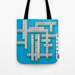 Cross Word Puzzle of Success Tote Bag