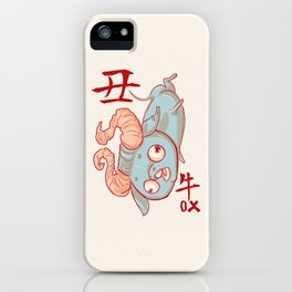 Year of the Ox iPhone Case