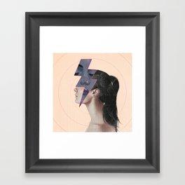 Residues Framed Art Print