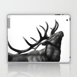 Elk in Black in White Laptop & iPad Skin