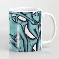 the xx Mugs featuring xx by Ela Caglar