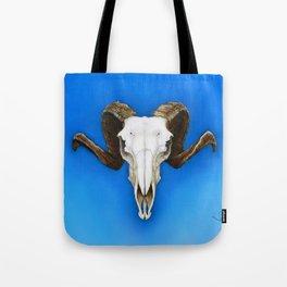 Dartmoor Sheep Skull Tote Bag