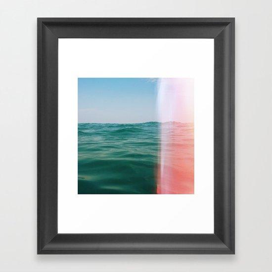Whisper of Waves Framed Art Print