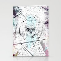 introvert Stationery Cards featuring Introvert by miguelnarayan