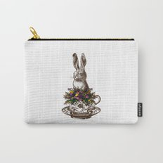 Rabbit in a Teacup Carry-All Pouch