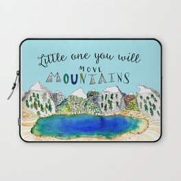 Little One You Will Move Mountains Laptop Sleeve
