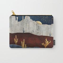 Moonlit Desert Carry-All Pouch