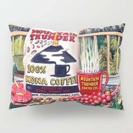 Mountsin Thunder Coffee bag stilllife Pillow Sham