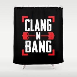 Clang N Bang Shower Curtain