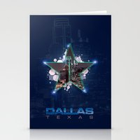 dallas Stationery Cards featuring Dallas by AdrianFlores