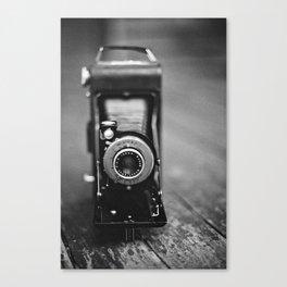 Old Kodak Film Camera Canvas Print