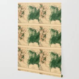 Map Of American Forests 1883 Wallpaper