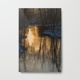 Early Morning Winter Metal Print