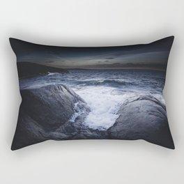 Crashing memories Rectangular Pillow