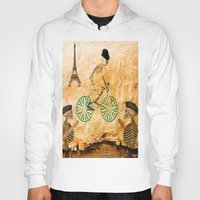 "tour de france Hoodies featuring Monsieur Bone and "" le  Tour de France "" by Ganech joe"