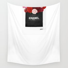 Blooming Roses  Wall Tapestry