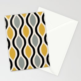 Mid Century Modern  Ogee Pattern 742 Stationery Cards
