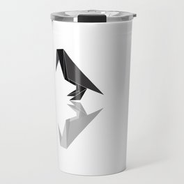 "Collection ""Origami"" impression ""Raven Paper"" Travel Mug"