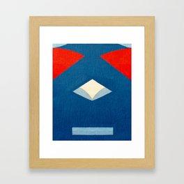 Lucha Libre Mask 3 Framed Art Print