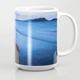 Last Light, Uretiti Beach Coffee Mug