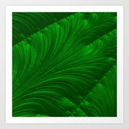Renaissance Green Art Print