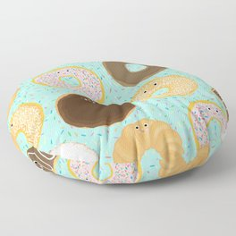 Donuts! Cute and yummy donut friends. Floor Pillow