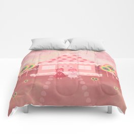 Candy Fields (Hansel & Gretel) Comforters