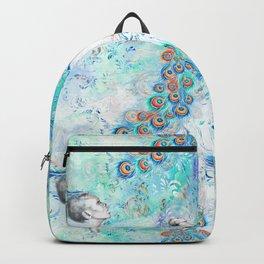 Peacock Pattern 08 Backpack