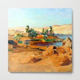 Jan Ciaglinski Nile near Aswan Metal Print