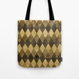 Wooden Diamonds Tote Bag