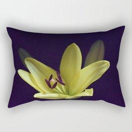 Asiatic Yellow Lily Rectangular Pillow