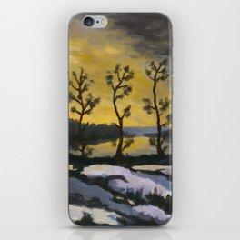 Forever lonely trees (The Danish Girl interpretation) iPhone Skin