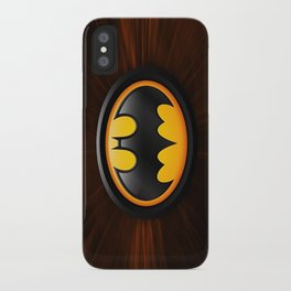 Bat man iPhone Case