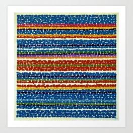 African American Masterpiece 'Light Blue Nursery'' by Alma Thomas Art Print