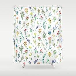 Garden Bouquets Shower Curtain