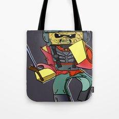 Eddie the Starship Trooper - Minecraft Avatar Tote Bag