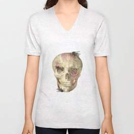 Grin and bear it  Unisex V-Neck