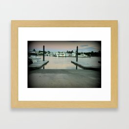 Early morning at Robe, South Australia Framed Art Print