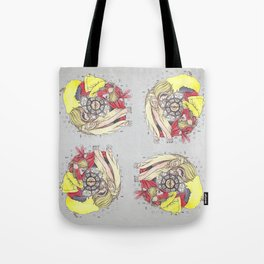 FAITH AND DECEIT  Tote Bag