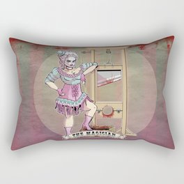 The Headless Magician Rectangular Pillow